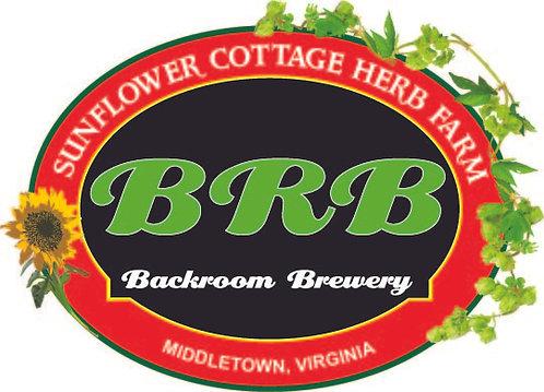 BRB Sticker