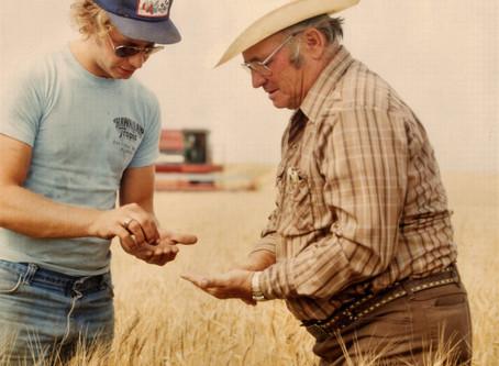 Farmer Dad inspires art