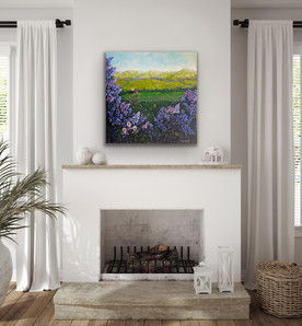 Lilac Love in your living room