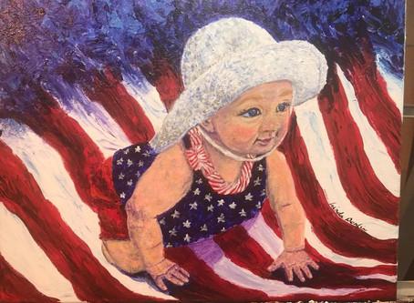 Portrait painting has challenges, rewards