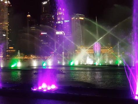 Marina Bay Sand Light Show