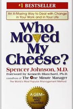 Who Moved My Cheese? (Johnson,Blanchard-hardcover)