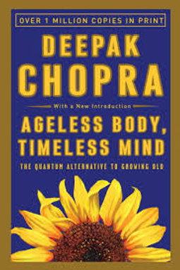 Ageless Body, Timeless Mind (Deepak-paperback)