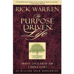 The Purpose Driven Life (Warren-hardback)