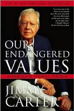 Our Endangered Values (Carter-hardcover)