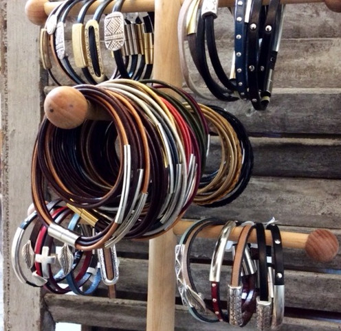 City Wraps Leather Bracelets