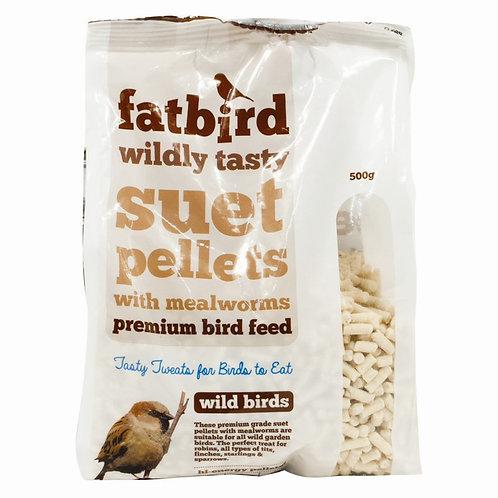 Bird suet feed pellets