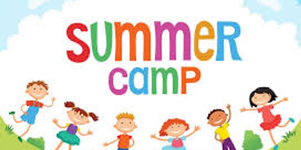 Summer Camp Begins 6/28