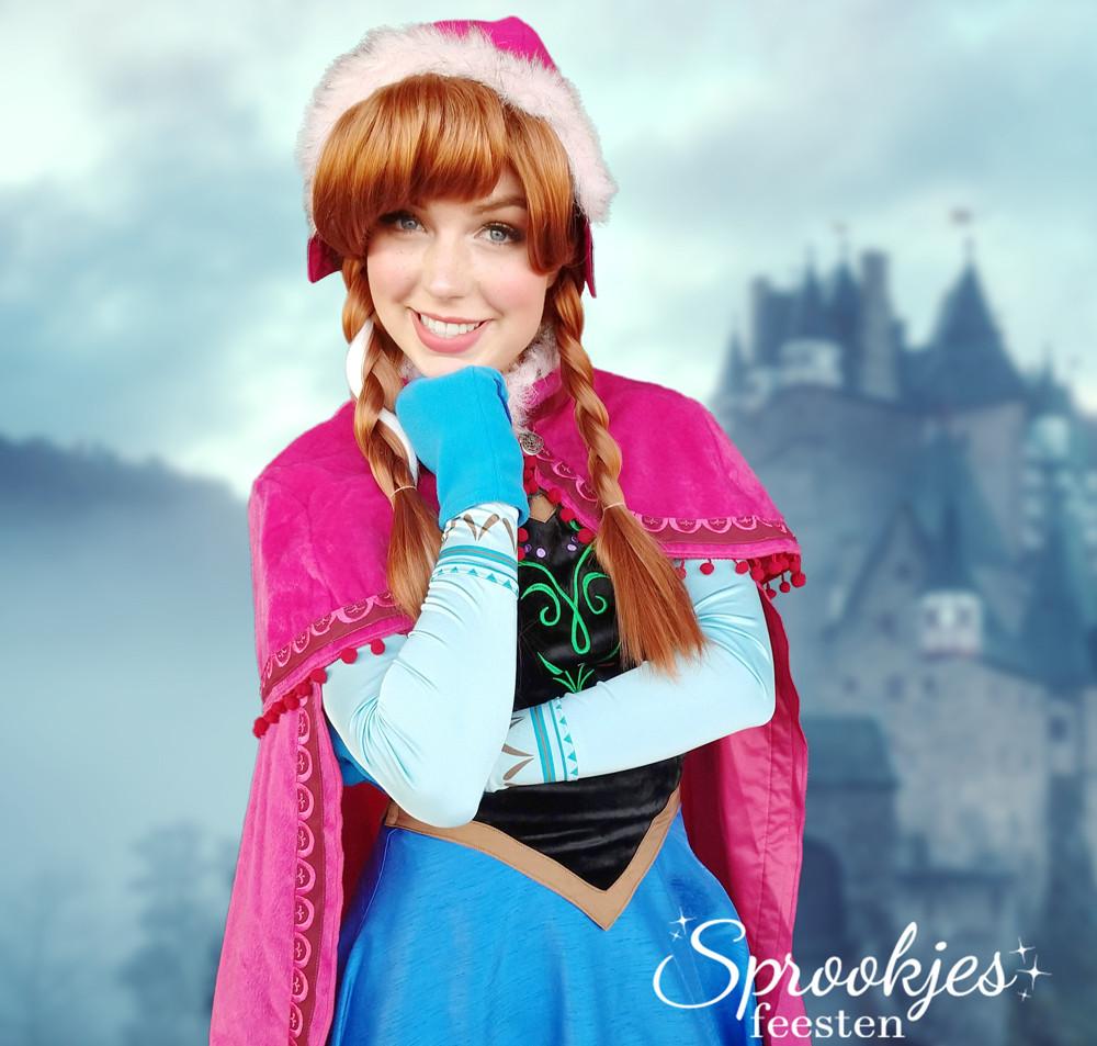 Sprookjesfeesten Sneeuwprinses Winterjurk