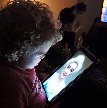 video bericht boodschap elsa prinses