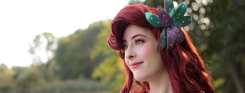 Zeemeerminprinses Staart Close Up Sprookjesfeesten