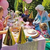 Kinderfeestje Sprookjesfeesten elsa