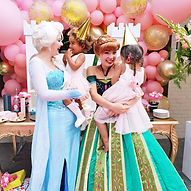 prinsessenfeestje elsa anna