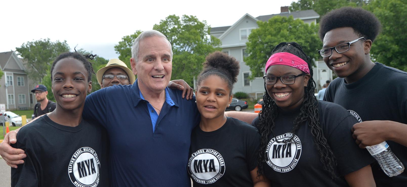 Governor Dayton and MYA.jpg