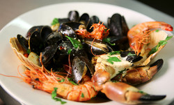 Roasted Hot Shellfish