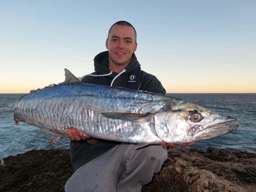 Spanish Mackerel Quobba helium ballooning