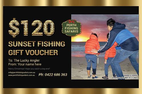 Perth Sunset Fishing Gift Voucher
