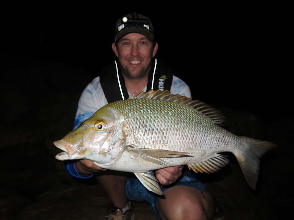 Spangled Emperor rock fishing Quobba WA