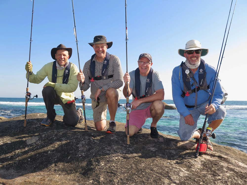 Salmon fishing tours from Perth t south-west WA