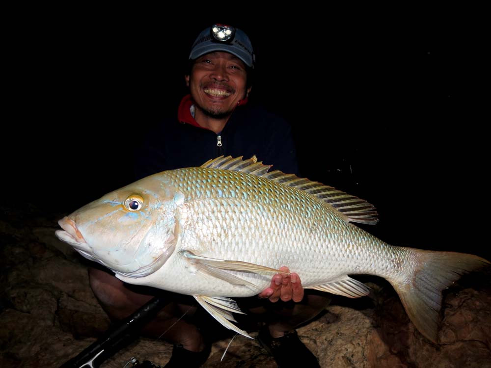 16Soangled Emperor caught off the rocks at Quobba Station WA