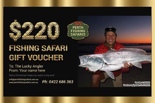 4WD Beach Fishing Safari Gift Voucher