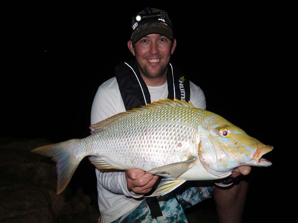 Spangled Emperor night fishing Quobba WA