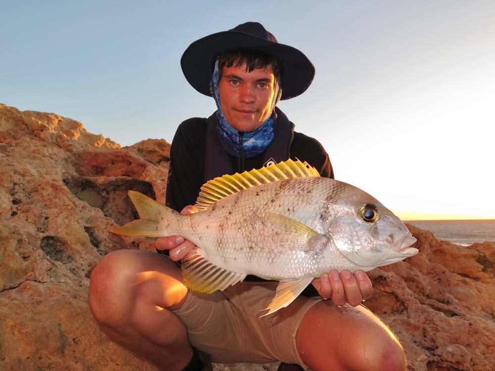 Robinson's Sea Bream Quobba fishing