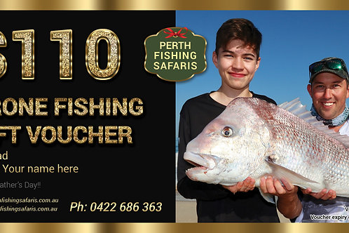 Perth Metro Drone Fishing Gift Voucher