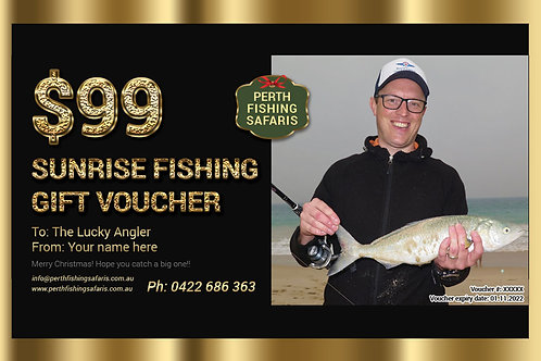 Perth Sunrise Fishing Gift Voucher