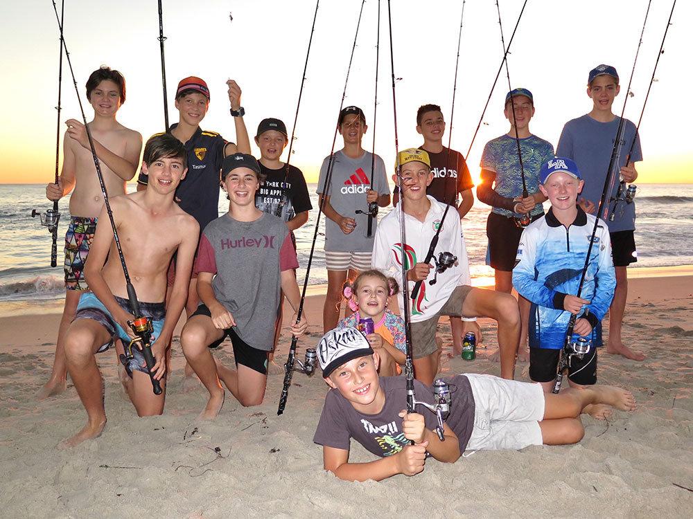 Kids Beach Fishing Party
