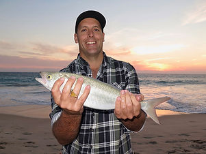 Phil with a Perth Evening Fishing Salmon
