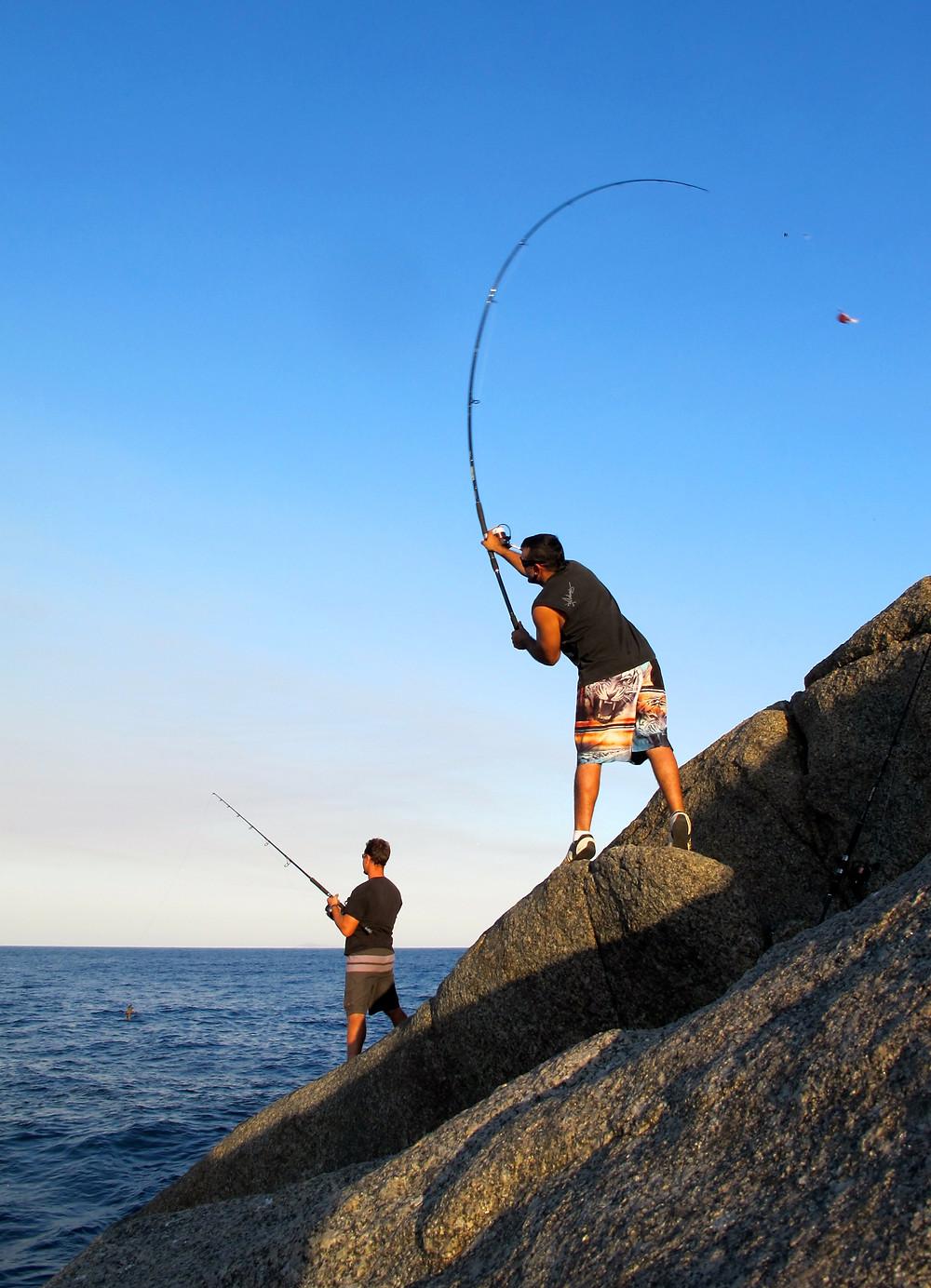 Rock Fishing in Albany WA