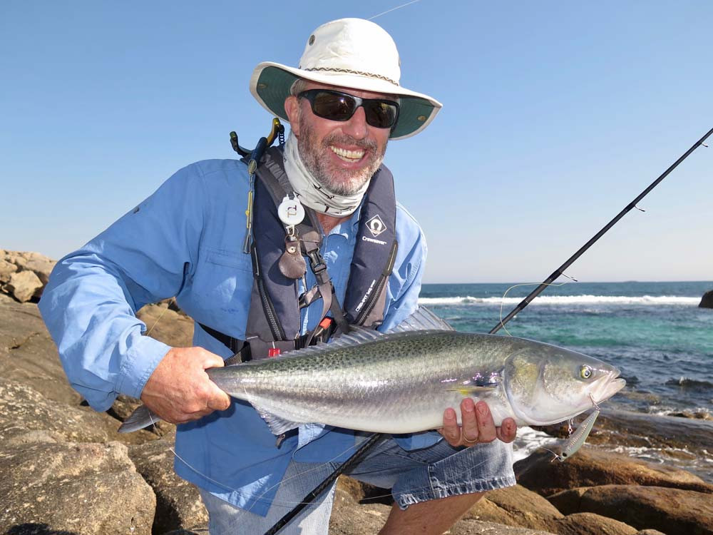 Catching Salmon on lure in south-west WA