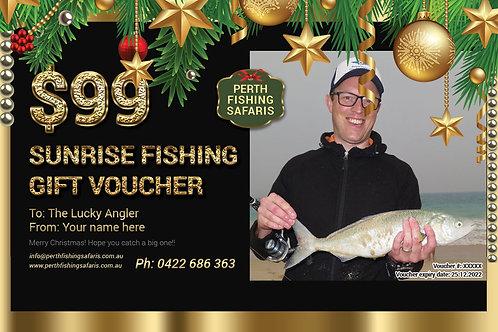Perth Sunrise Fishing Christmas Gift Voucher