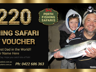 Father's Day Fishing Gift Vouchers
