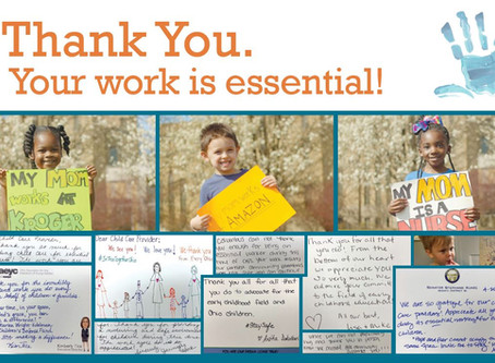 Groundwork Sends Thank You Cards to Over 2,000 Pandemic Child Care Providers