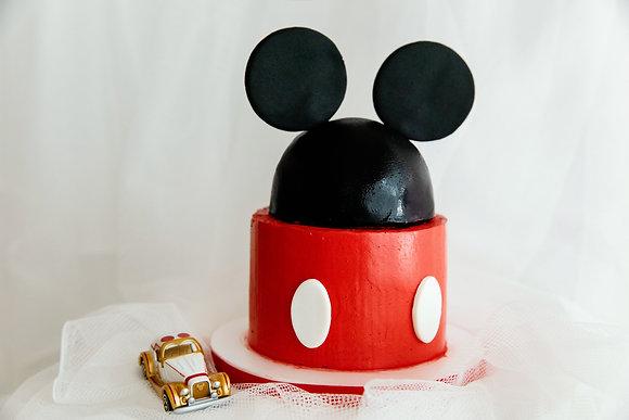 大耳老鼠-翻糖蛋糕