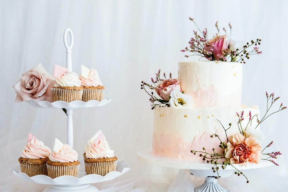 婚禮蛋糕與造型甜點