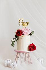 玫瑰園-鮮花蛋糕