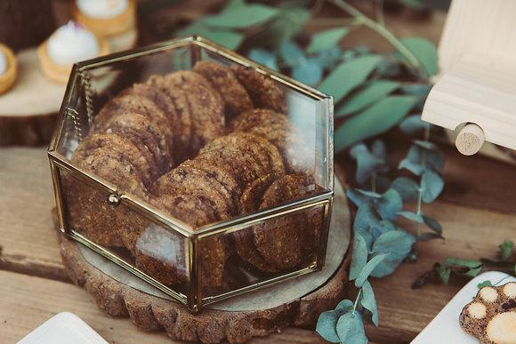 燕麥蘭姆葡萄乾餅乾