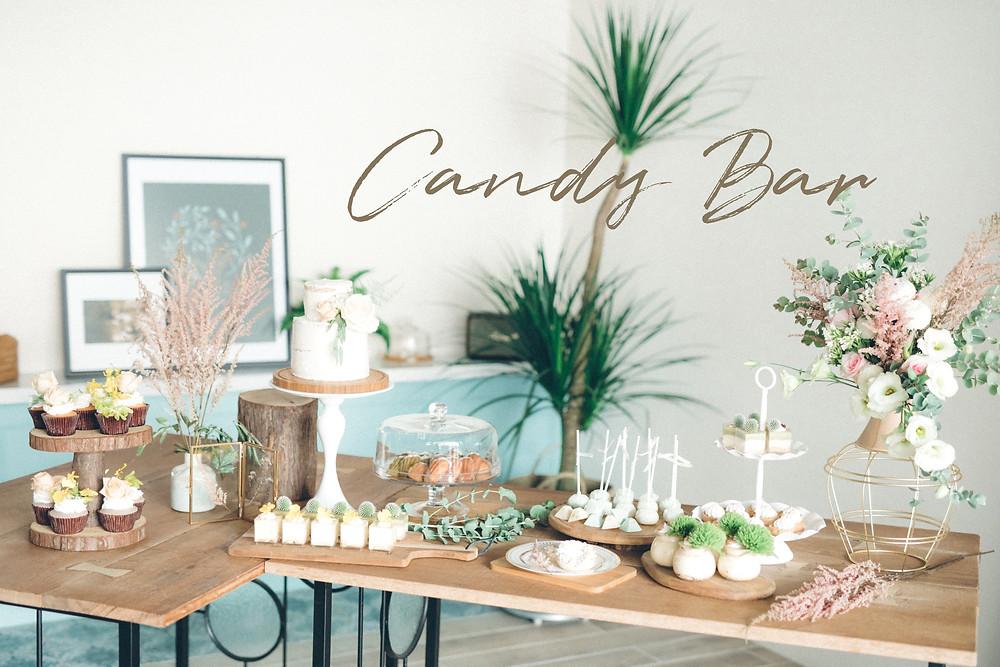 #婚禮佈置 #歐式婚禮 CandyBar