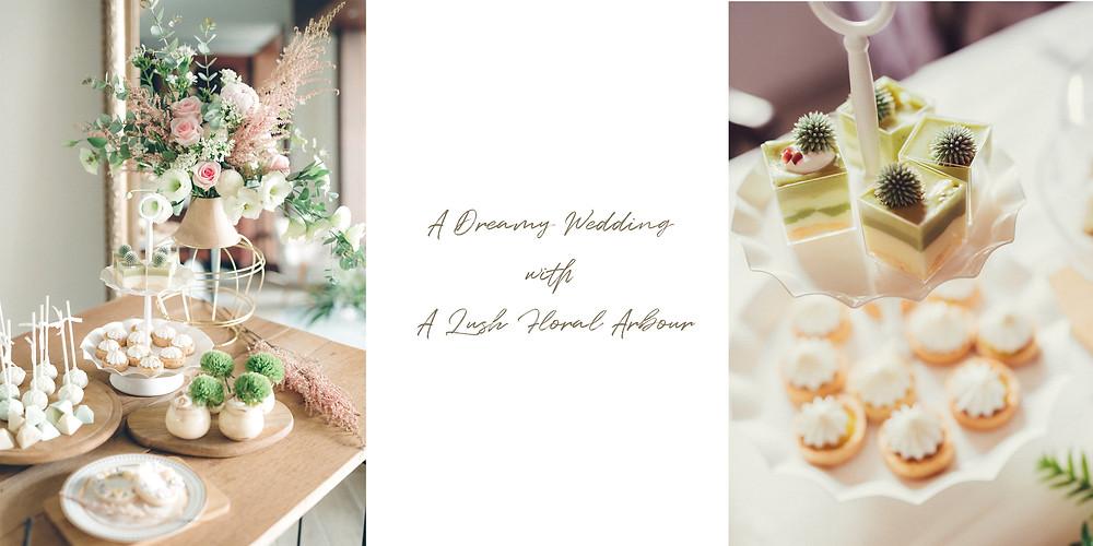 客製化婚禮甜品台