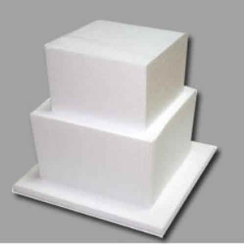 ケーキ模型(正方形) 15センチ*高さ5センチ