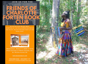 Queen Quet Hosted by the Charlotte Forten Book Club