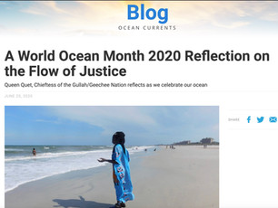 A World Ocean Month 2020 Reflection on the Flow of Justice