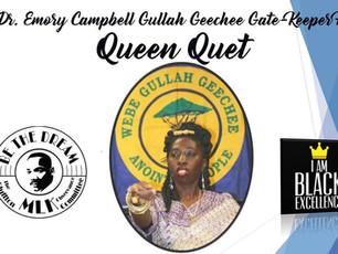 Queen Quet Receives the Black Excellence Award