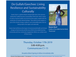 De Gullah/Geechee: Living Resilience & Sustainability Culturally
