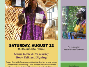 Queen Quet presents Gullah/Geechee at the Morris Center for the Lowcountry