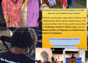Historical Effects of Migration on Gullah/Geechee Cultural Continuation
