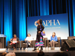 Queen Quet Closes out the APHA Conference at the GA World Congress Center